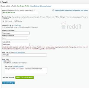 NextScripts API: New Social Network – Reddit