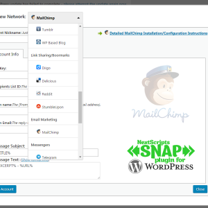 New Release: SNAP for WordPress Version 3.7